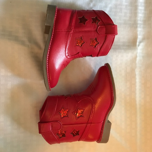 Gymboree Other Toddler Girl Red Boots