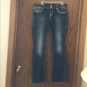 Vigoss Denim - VIgoss NewYork slim boot 11/12 length 33 like new