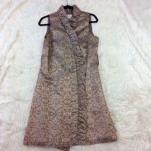 ELIZA J Size 10 Brocade Cocktail Dress