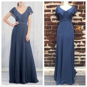 Jenny Yoo Dresses & Skirts - Jenny Yoo 2 Blue Cecilia Gown Dress Bridesmaid