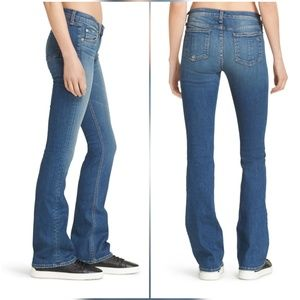Rag & Bone Boot Cut Bootcut Jeans in Delancey