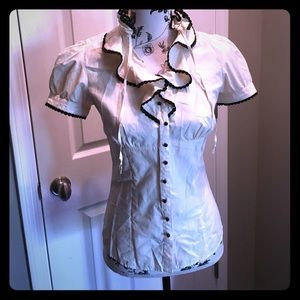 Forever 21 ruffle blouse