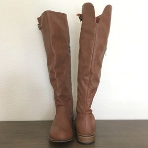 Shoes - Knee High Riding Boots