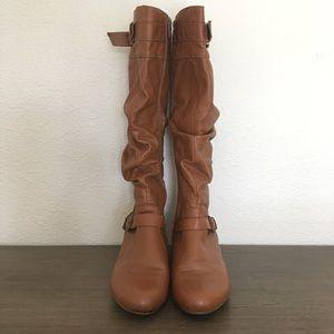Shoes - Slouchy Knee High Boots
