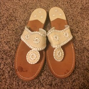 Jack Rogers Shoes - Authentic white jack Rodgers sandals