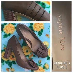 Sophie Max Shoes - Sophie Max Tan Heels