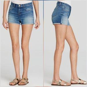 J Brand Gracie High Rise Jean Denim Shorts Jagger