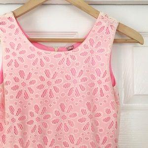 Knitworks Other - GIRLS Knitworks Cream & Pink Dress