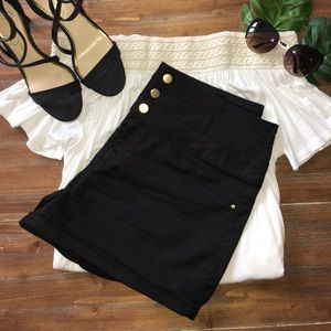 refuge Pants - Black dress shorts