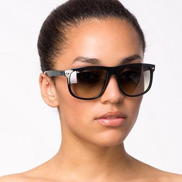 04f4de80891 Ray-Ban Polarized 4147 Boyfriend Sunglasses. M 59273842f09282ece400fcf5
