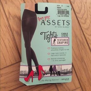 Assets By Spanx Accessories - NWT Assets by Spanx textured tights