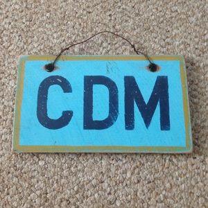 Brandy Melville Like CDM Wooden Sign