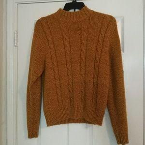 Vintage Sweaters - Mustard Sweater