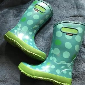 Bogs Other - Bogs girl's tall rainboots size 1