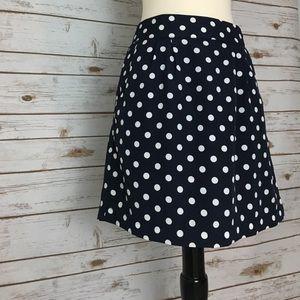 Francesca's Polka Dot Skirt