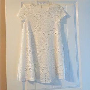 White Tunic Top/ Dress