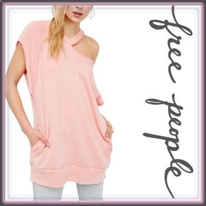 Free People Tops - NWT Free People Blush Tunic with pockets