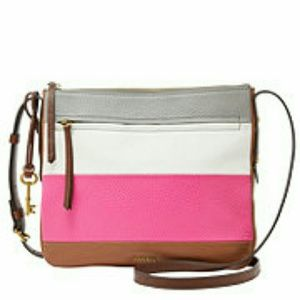 Fossil Handbags - HP  Fossil  Leather Cross Body