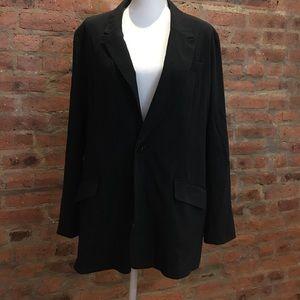 Spiegel black jacket size 18.