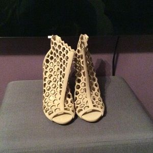 Ann Michell Shoes - BRAND NEW! Honey comb caged Booties.