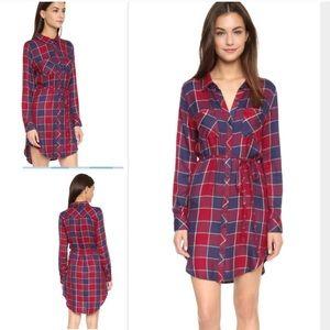 Rails Dresses & Skirts - Rails Nadine plaid button down dress