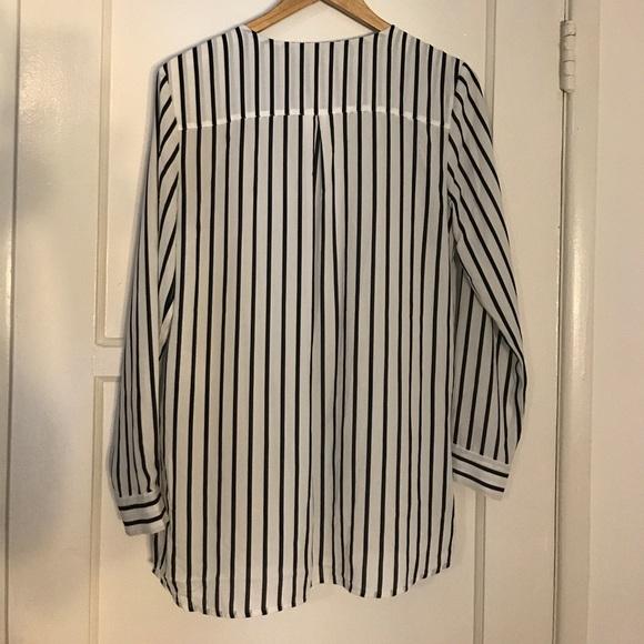 Oversized Long Sleeve Blouse 33