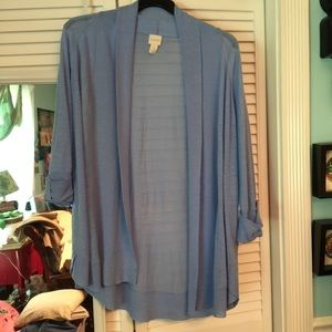 Chico's Sweaters - Chico's Periwinkle Blue, very lightweight sweater