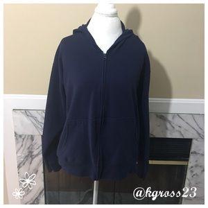 Hanes Tops - Hanes navy hoodie