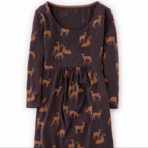 "Boden Dresses & Skirts - BODEN ""Must Have Tunic"" Deer Pattern Scoop Dress"