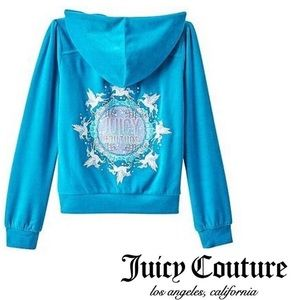 Juicy Couture Other - 🎉SALE🎉 JC Girls Size 10 M Unicorn Hoodie EUC