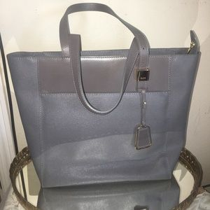 Tumi Handbags - Gray Tumi 'Voyageur' shoulder bag/purse, EUC