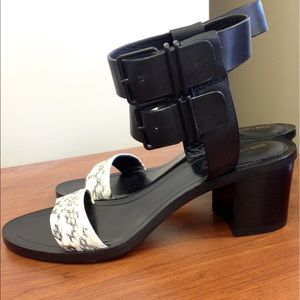 Pour la Victoire Shoes - Pour La Victoire Dagney Double-Wrap City Sandal