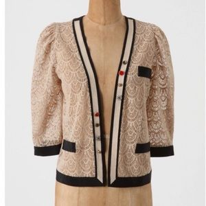 """Anthropologie Jackets & Blazers - Anthropologie """"It's In The Details"""" Lace Jacket"""