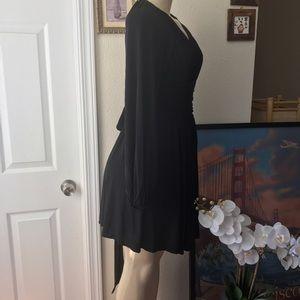 BCBGMaxAzria Dresses & Skirts - BCBG MaxAzria:  Black Open-Back Dress.Size:XS.