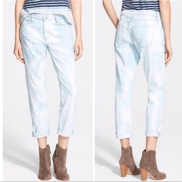Current/Elliott Jeans - Current/Elliott Fling bleached out jeans