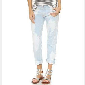 Current/Elliott Fling bleached out jeans