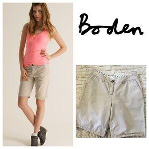 Boden Pants - Boden Size 12 Chino Walking Shorts EUC