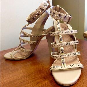 Gianni Bini Shoes - Gianni Bini rhinestone blingy heels