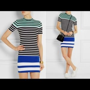 Dresses & Skirts - T by Alexander Wang striped dress size XS