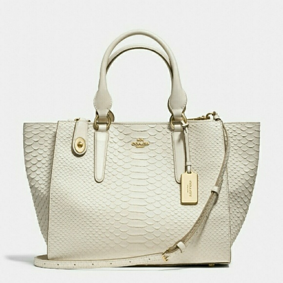 1abaae49a3ff discount coach minetta leather python satchel shoulder bag baef7 8dab6  discount  code for coach white embossed python purse 0c3cc b8818