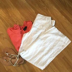 Portmans Pants - JUST REDUCED! Portmans White Linen Pants