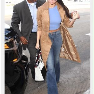 High waisted JBrand jeans, as seen on Selena Gomez
