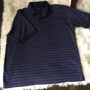 Hathaway men's polo shirt size large.
