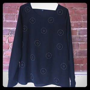 MM Couture Tops - Long sleeve blouse