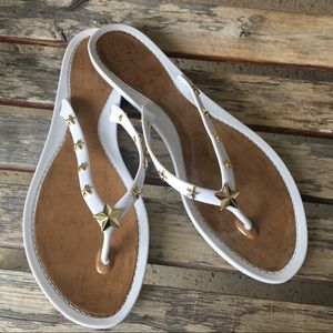 Marc Fisher Shoes - Marc Fisher Jelly star flip flops size 11
