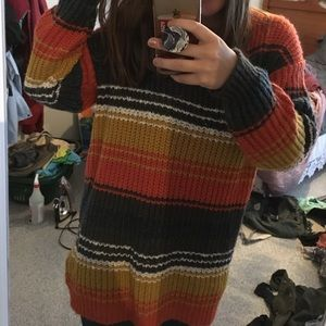 UO oversized sweater/ sweater dress