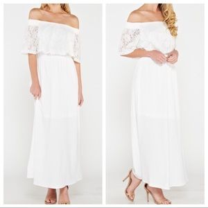 Dresses & Skirts - 🆕 off the shoulder maxi dress