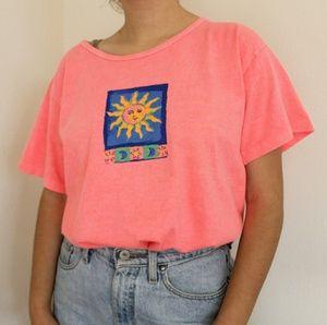 Vintage sun moon stars t-shirt