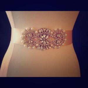 Accessories - Wedding sash/belt