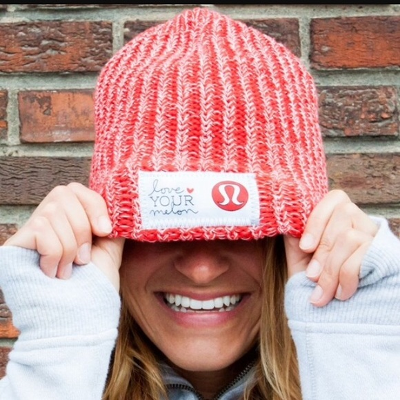 lululemon athletica Accessories - RARE Lululemon Love Your Melon Hat 0f7519043f4